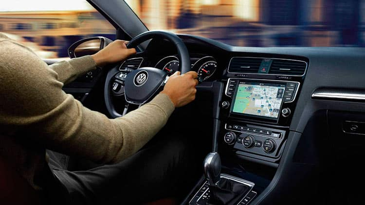 interior volkswagen golf vii