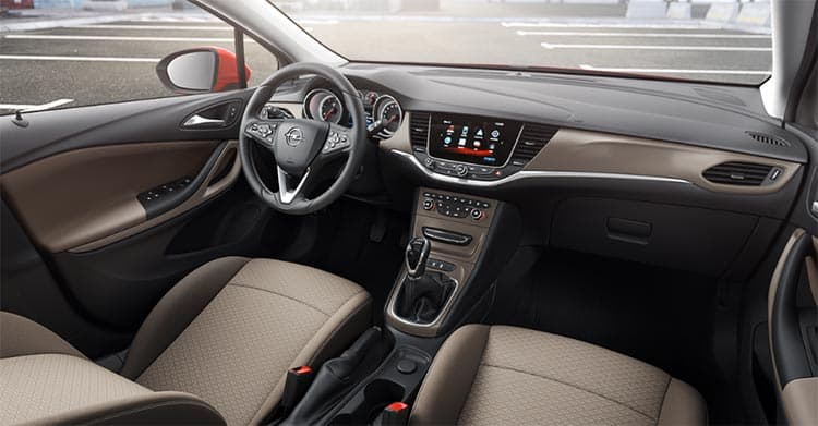 Opel astra an lisis completo blog leaseplan go for Interior opel astra 2017