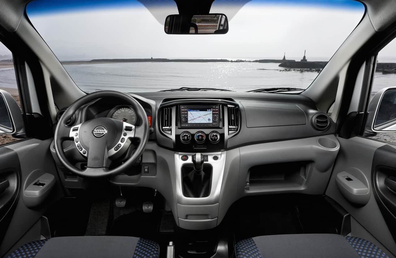 nissan nv200 interior