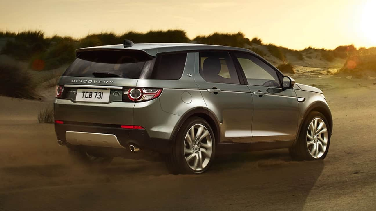 Renting Land Rover Discovery Sport 2018